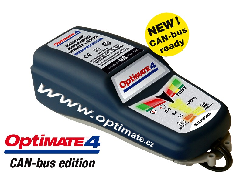 optimate 4 can bus instructions